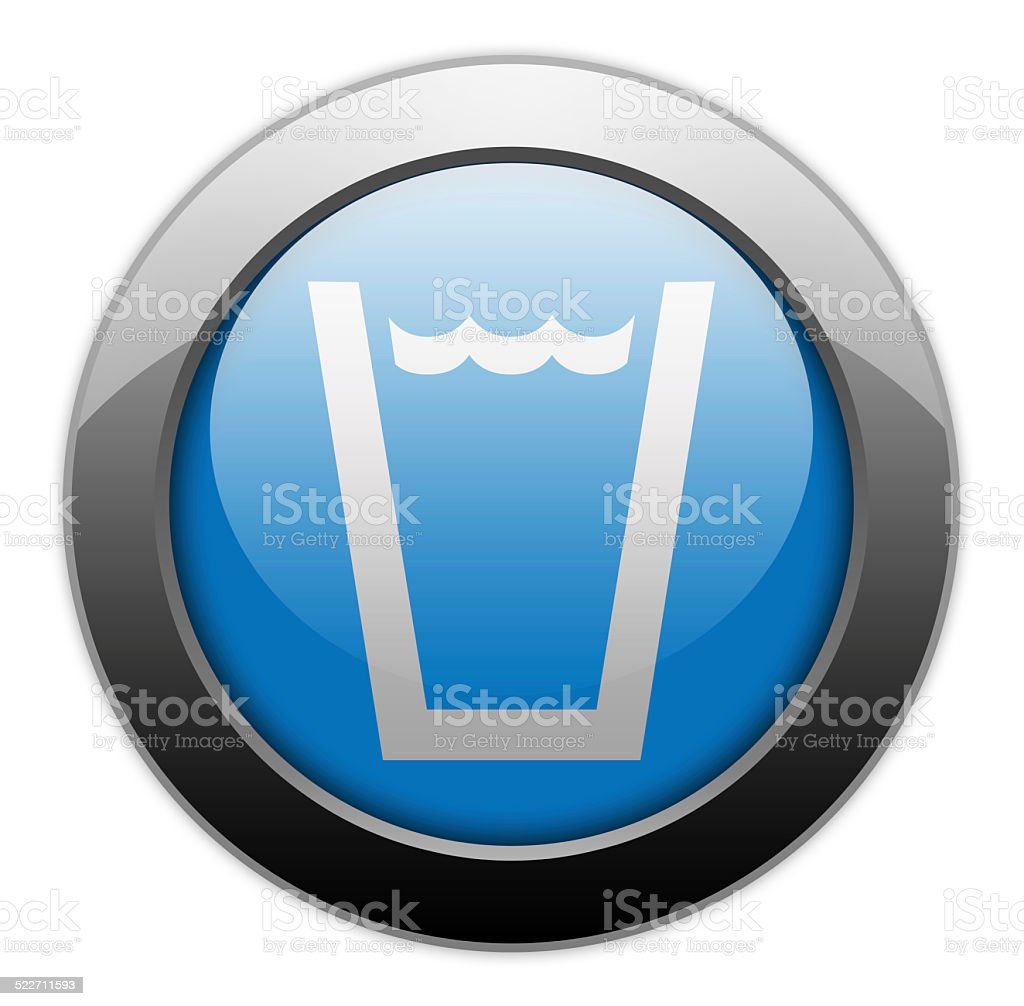 Icon, Button, Pictogram Drinking Water vector art illustration