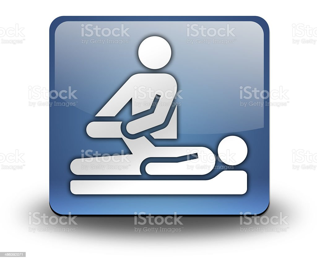 Icon, Button, Pictogram Physical Therapy vector art illustration