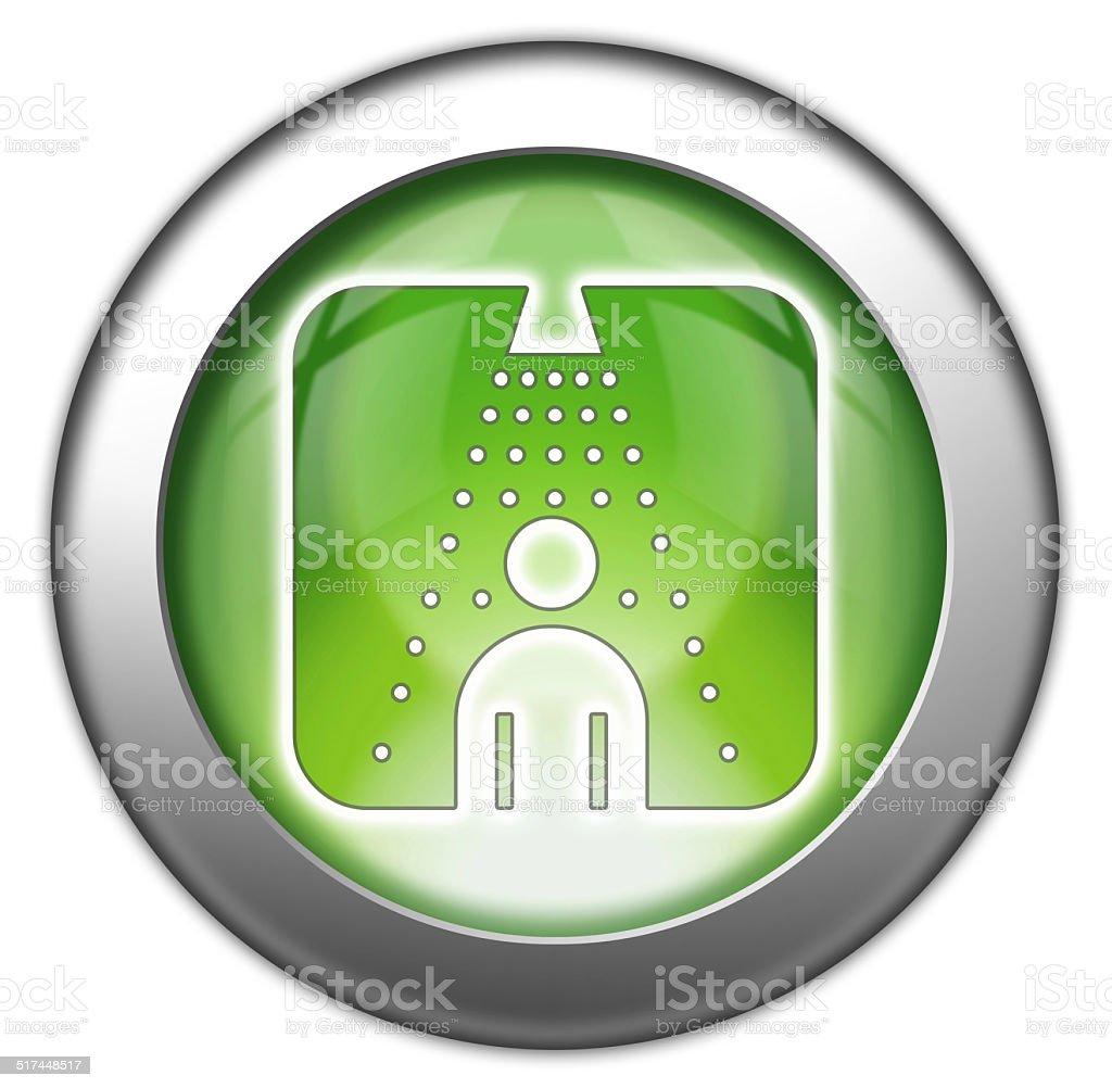 Icono De Pictograma Bot N Ducha Illustracion Libre De Derechos  ~ Como Limpiar La Alcachofa De La Ducha