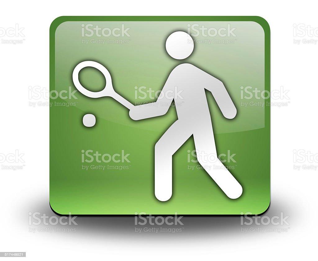 Icon, Button, Pictogram Tennis vector art illustration