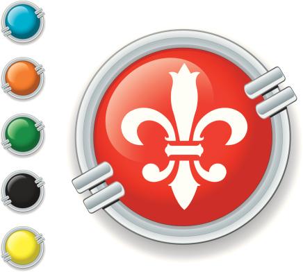 Icon fleur-de-lis