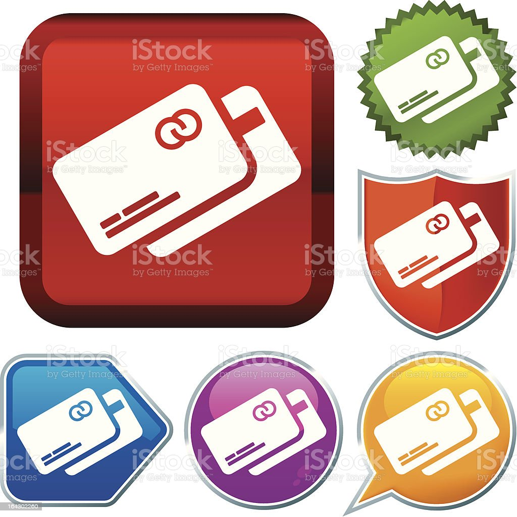 icon series: credit card royalty-free icon series credit card stock vector art & more images of blue