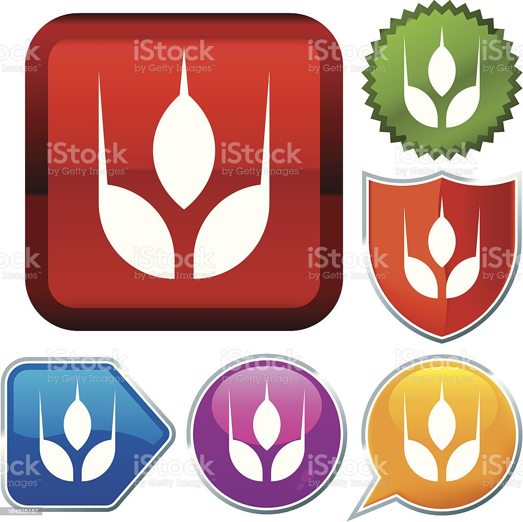 icon series: grain royalty-free icon series grain stock vector art & more images of blue