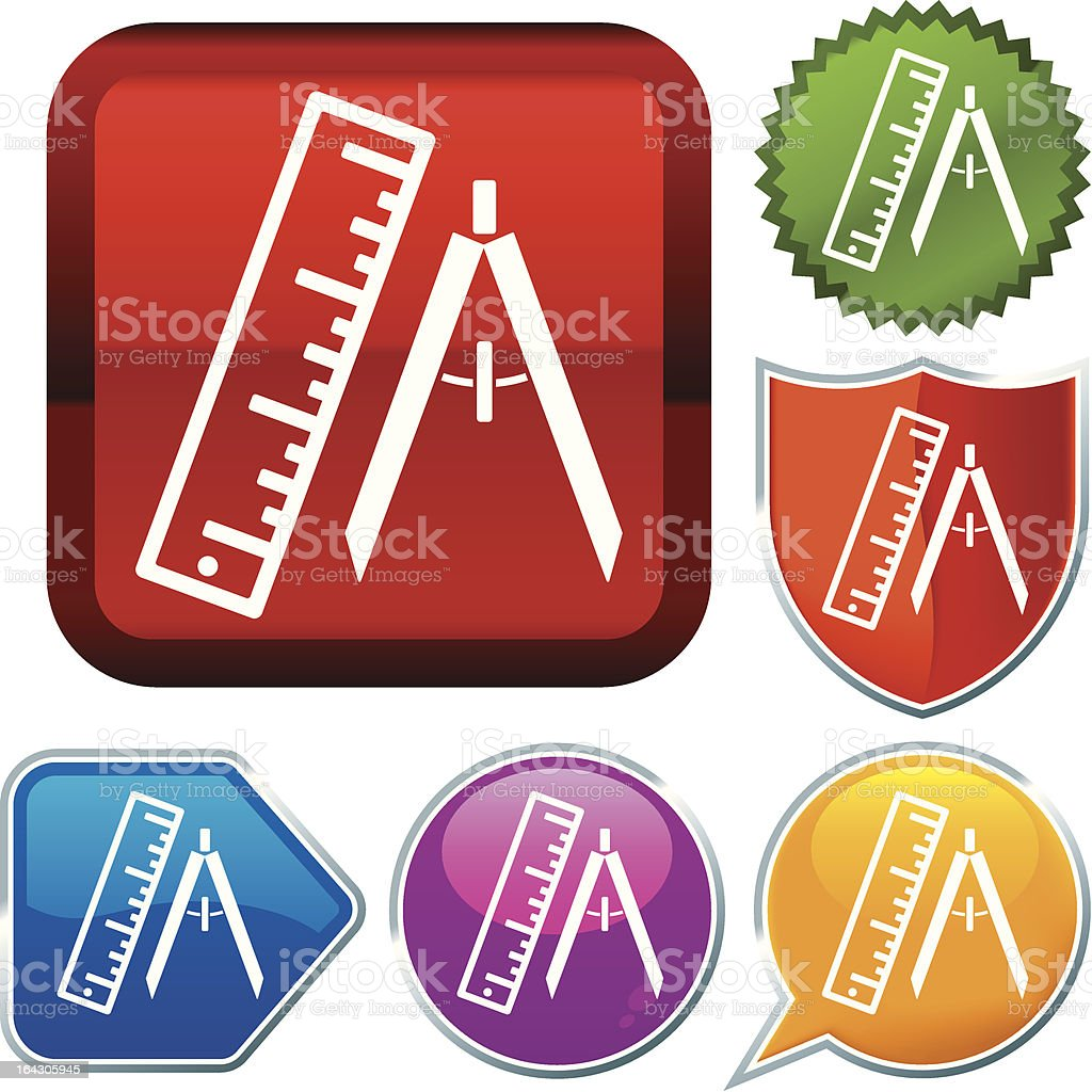 icon series: measurement royalty-free stock vector art