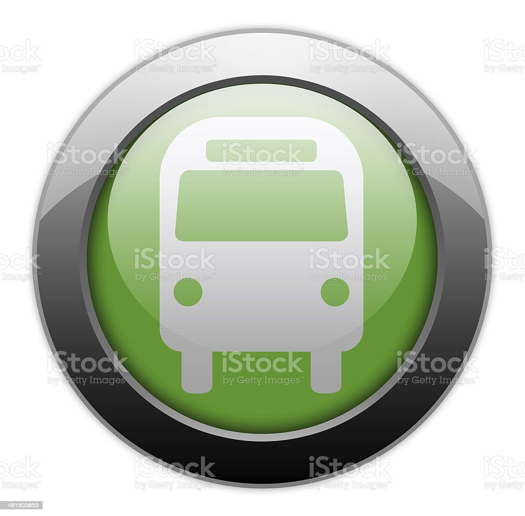 Icon/Button/Pictogram 'Bus / Ground Transportation' royalty-free iconbuttonpictogram bus ground transportation stock vector art & more images of bus
