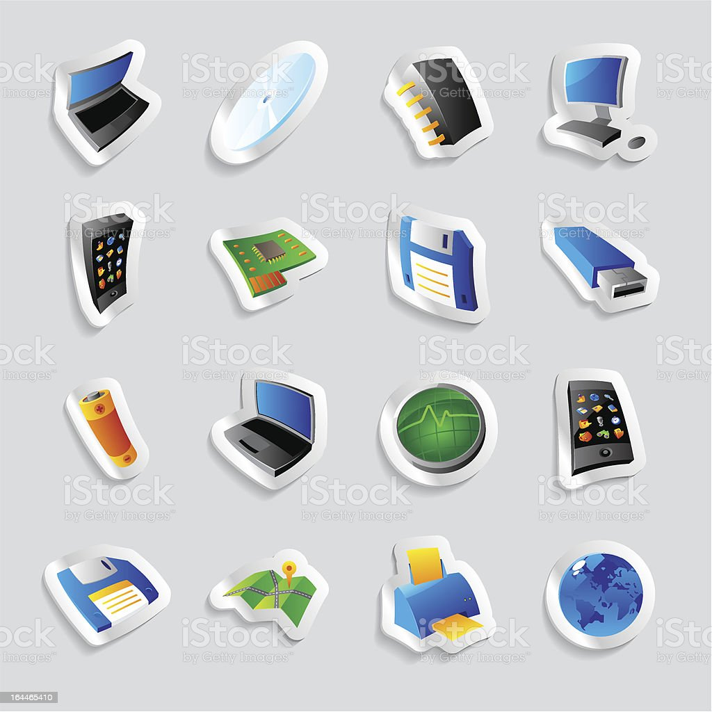 Icons for industry and technology royalty-free icons for industry and technology stock vector art & more images of black color