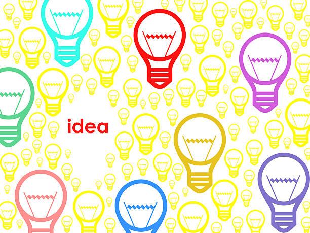 bildbanksillustrationer, clip art samt tecknat material och ikoner med idea - changing bulb led