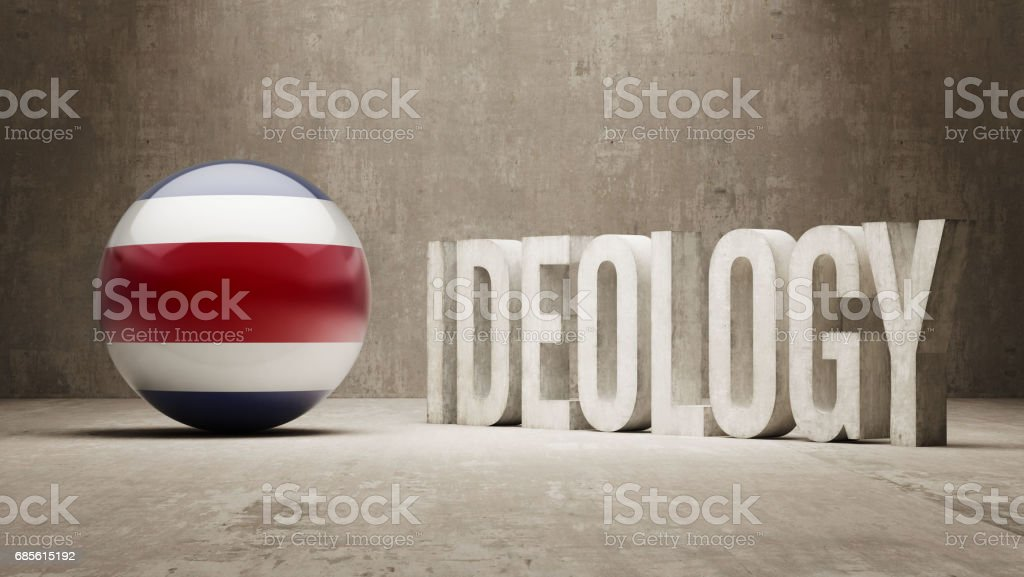 Ideology Concept 免版稅 ideology concept 向量插圖及更多 costa rican flag 圖片