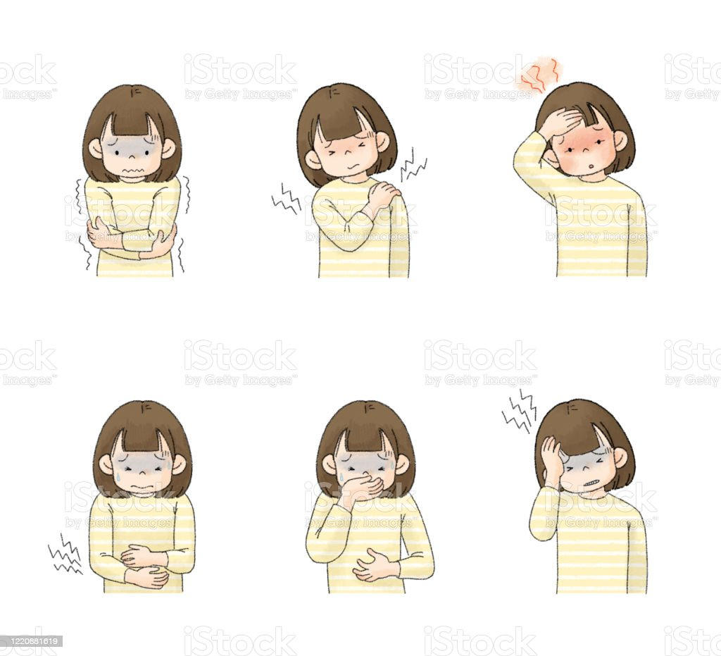 dolor abdominal cabeza fiebre