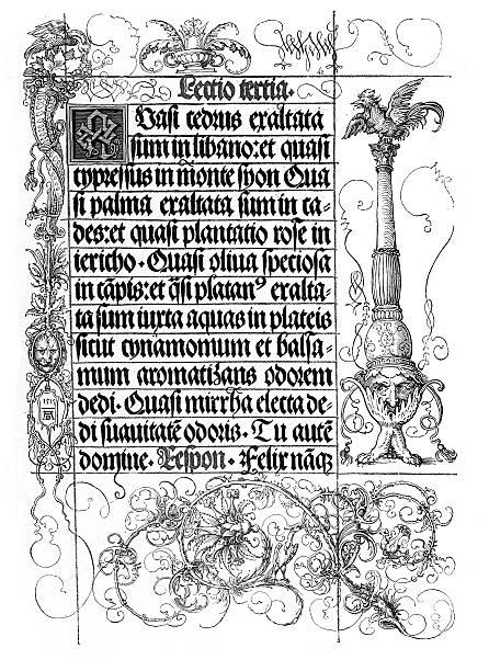 illustrations, cliparts, dessins animés et icônes de illumination manuscrit - enluminure bordure
