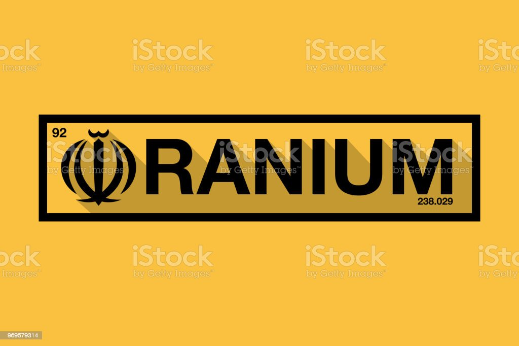 Illustration For Iran Boosting Their Uranium Development Stock