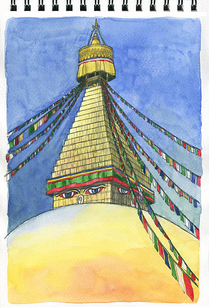 Buy And Sell Apps >> Royalty Free Bodnath Stupa Clip Art, Vector Images & Illustrations - iStock