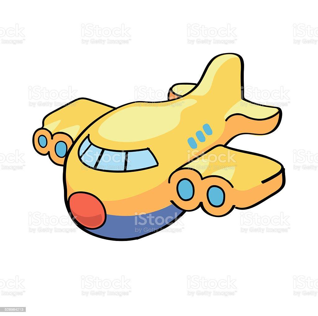 мультяшные самолёты картинки
