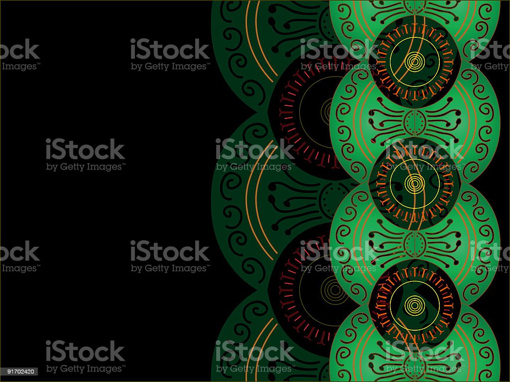 illustration of abstract floral design royalty-free illustration of abstract floral design stock vector art & more images of abstract