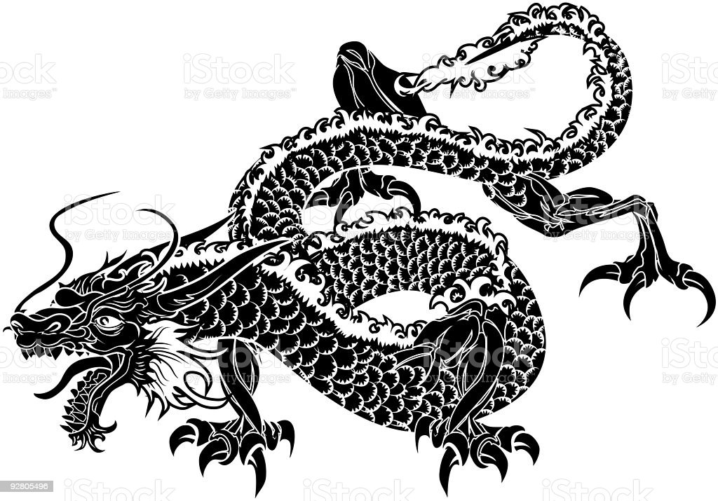 Asian Black And White Clip Art - Naked Images-2297