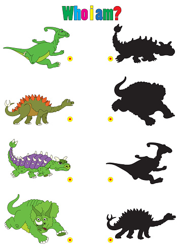 Illustration Of Dinosaur Cartoons For Childrens Books With Ridd Stock Illustration Download Image Now Istock