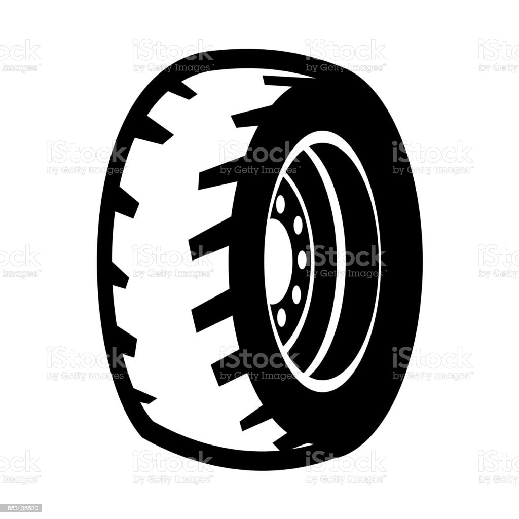 illustration of wheel vector art illustration