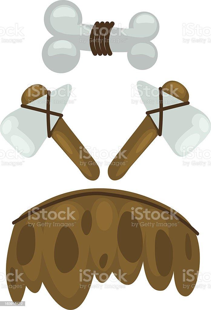 illustration stone age royalty-free stock vector art
