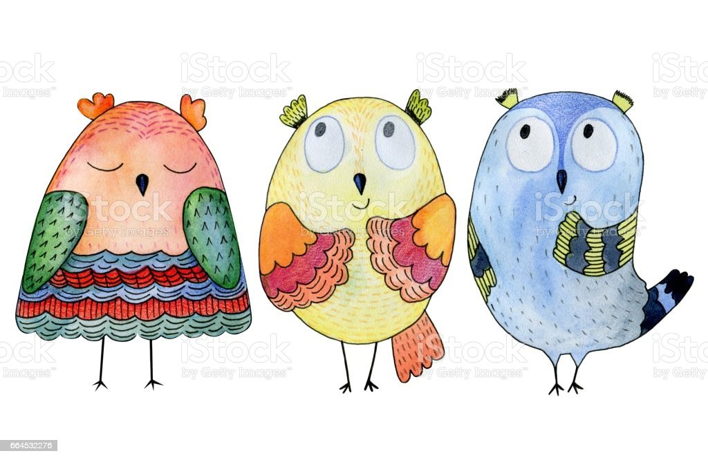 illustration with owl royalty-free illustration with owl stock vector art & more images of animal
