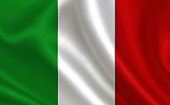 Image of the Italian flag.