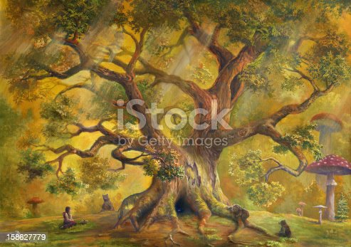 istock In Fairy Forest 158627779