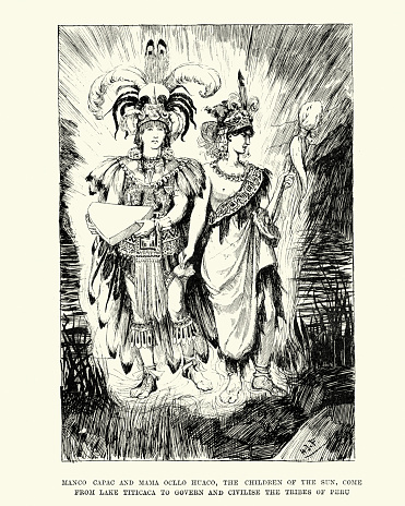 Inca mythology - Manco Capac and Mama Ocllo