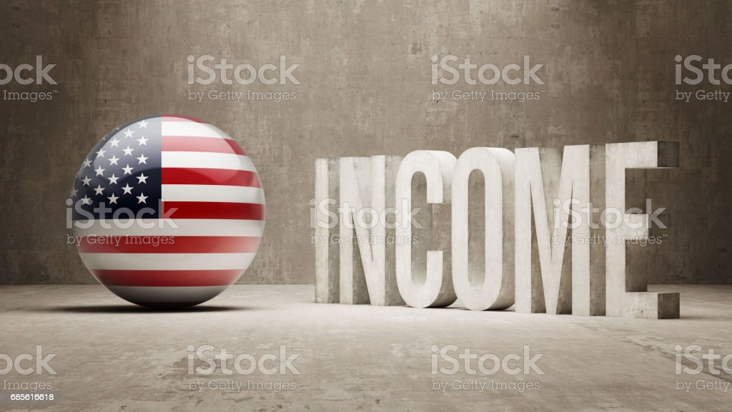 Income Concept royalty-free income concept stock vector art & more images of american flag