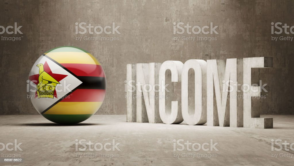 Income Concept 免版稅 income concept 向量插圖及更多 zimbabwe flag 圖片
