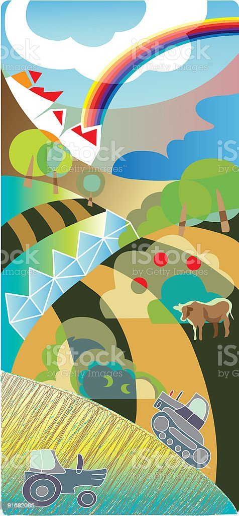 industry background royalty-free stock vector art