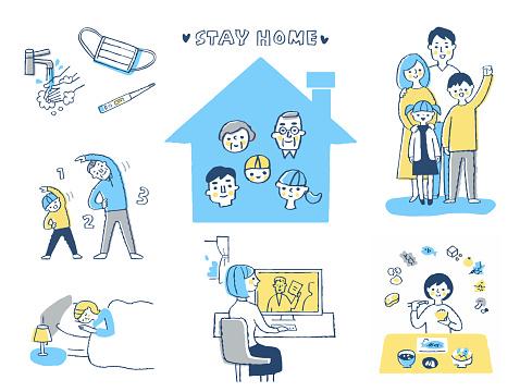 感染症予防策 - COVID-19のベクターアート素材や画像を多数ご用意