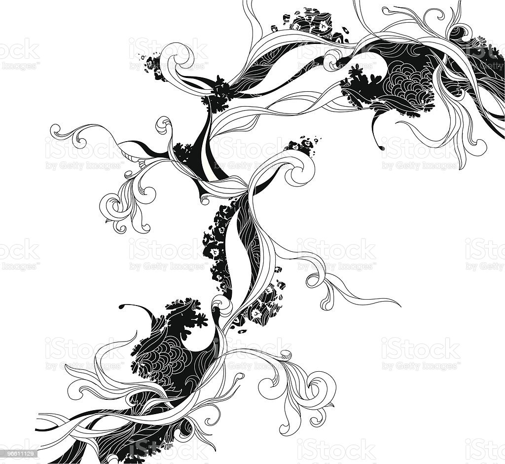 Ink Doodle - Royalty-free Abstract stock vector