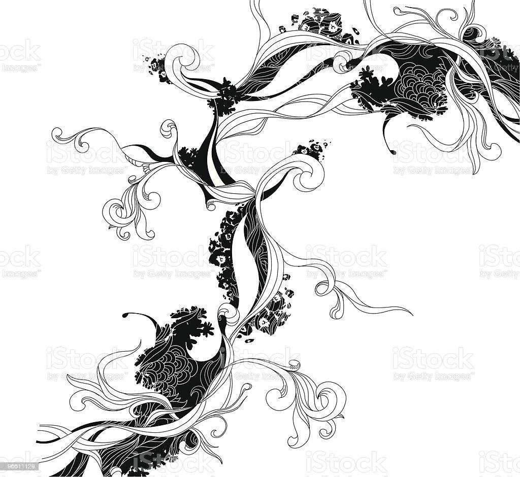Ink Doodle vector art illustration