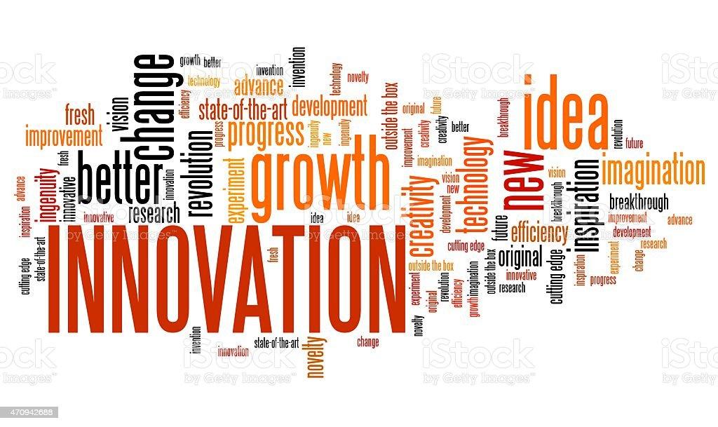Innovation vector art illustration
