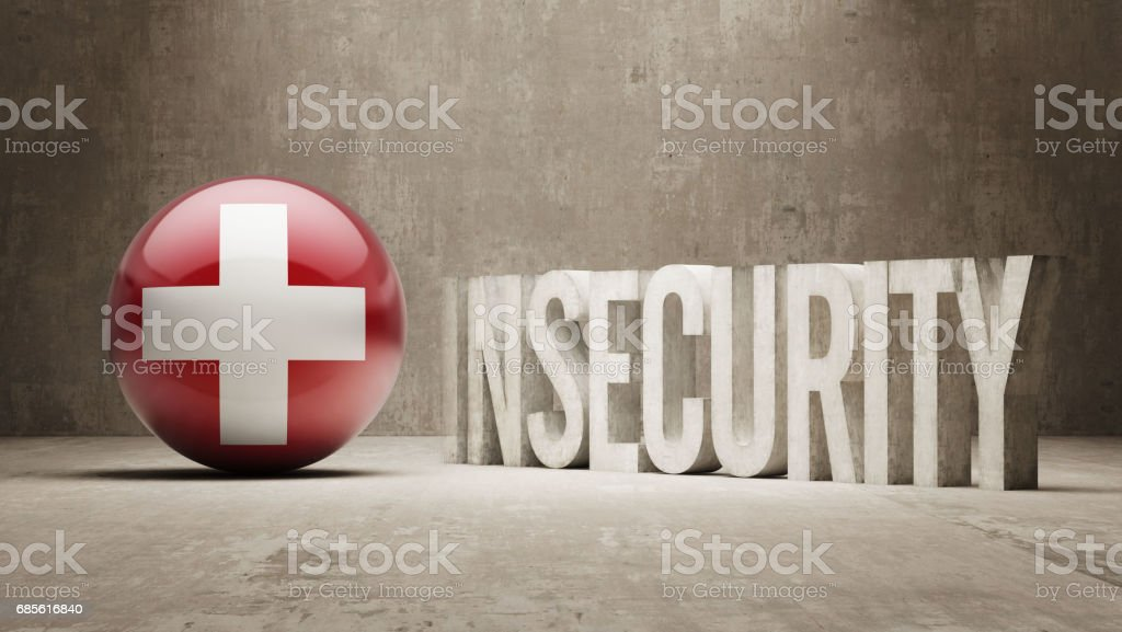 Insecurity Concept 免版稅 insecurity concept 向量插圖及更多 危險 圖片