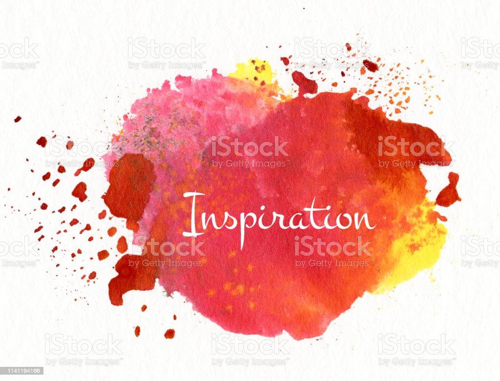 inspiration vector art illustration