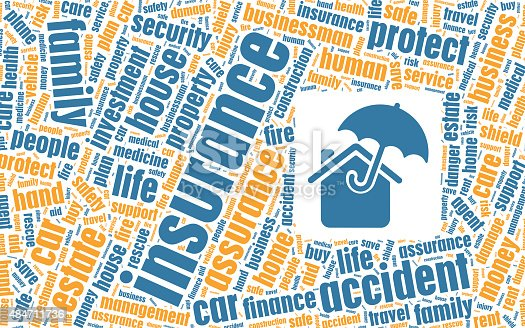 istock Insurance Concept in Tag Cloud 484711736