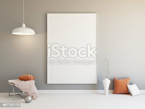 654050754istockphoto Interior mockup 3d 667752170