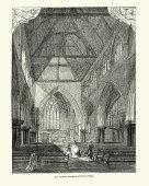 istock Interior of All Saints' Church, Notting Hill, London, 19th Century 1317161432