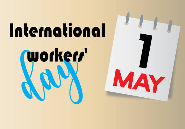 international workers' day - may day stock illustrations, clip art, cartoons, & icons