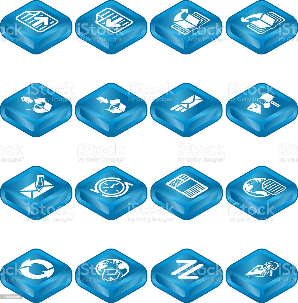 Internet Browser and Email Icon Set Series royalty-free internet browser and email icon set series stock vector art & more images of assistance