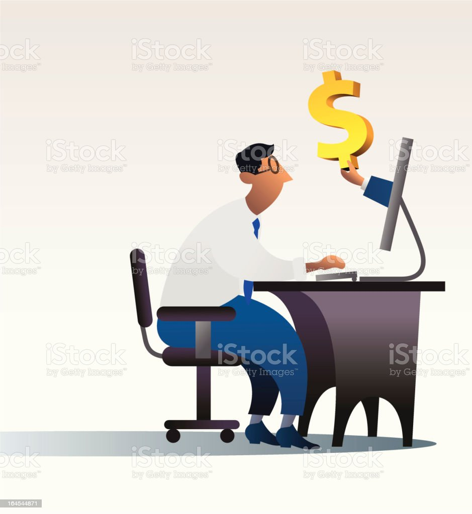 internet business royalty-free stock vector art