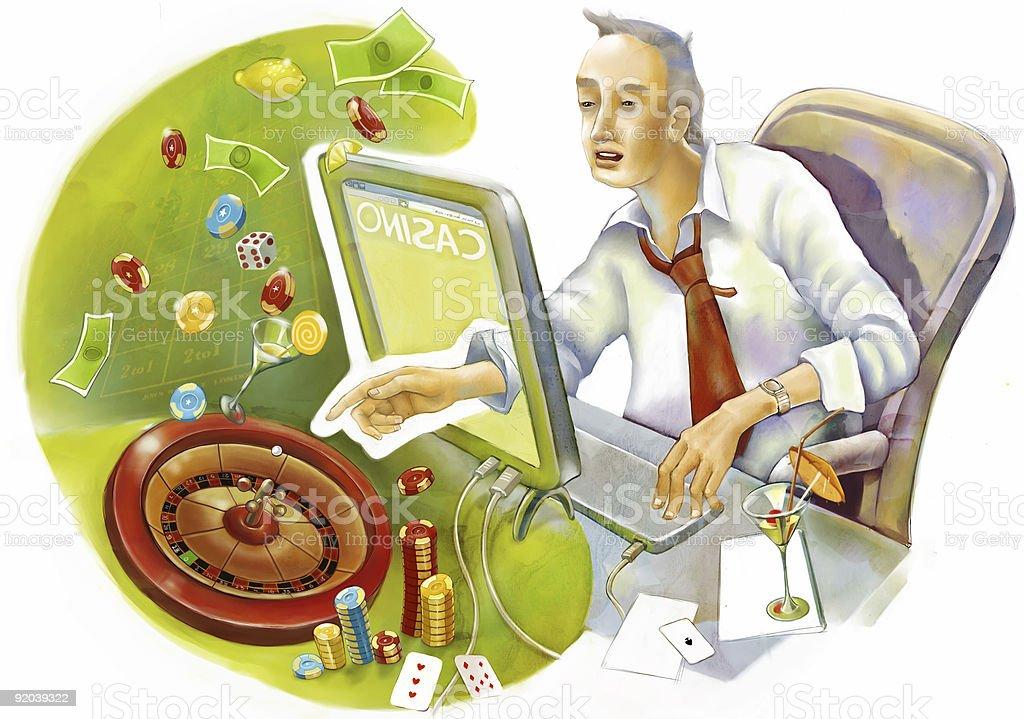 internet casino royalty-free internet casino stock vector art & more images of adult