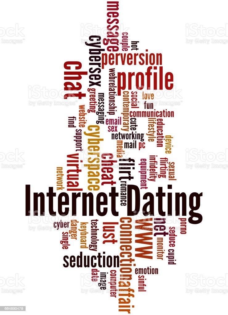 Internet Dating, word cloud concept 8 internet dating word cloud concept 8 - immagini vettoriali stock e altre immagini di amore royalty-free