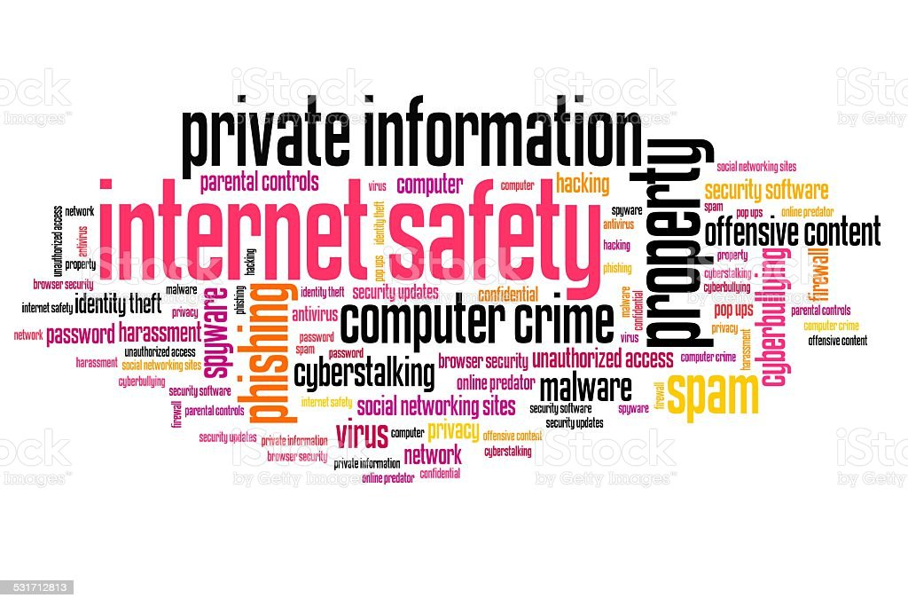 Internet Safety Stock Illustration Download Image Now Istock