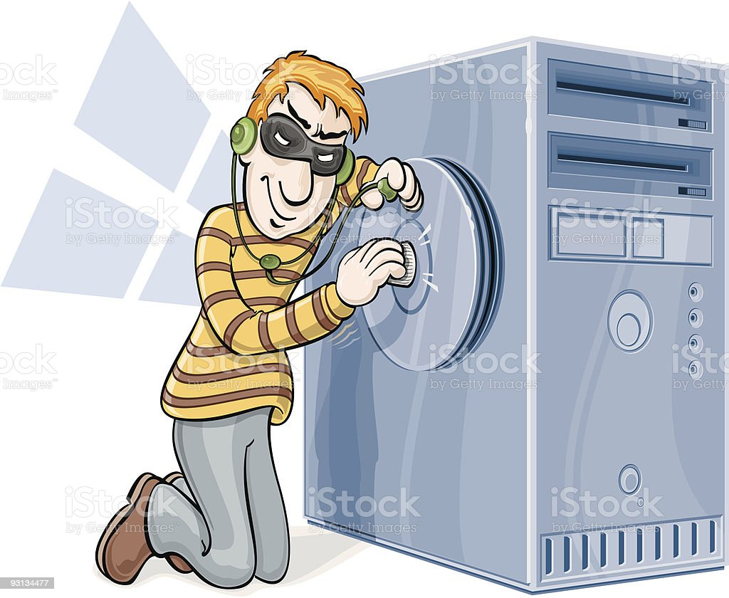 Internet Security royalty-free stock vector art