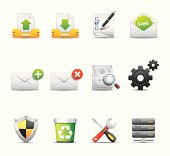 Elegant internet & web related icon can beautify your designs & graphic