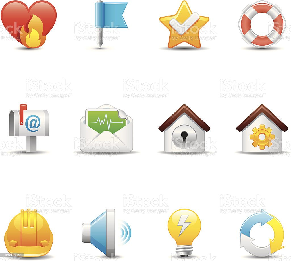 Internet & Web Icon Set   Elegant Series royalty-free stock vector art