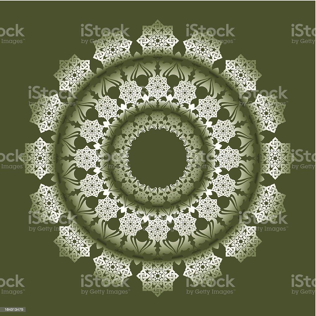 Islamic arabesque 2 royalty-free stock vector art