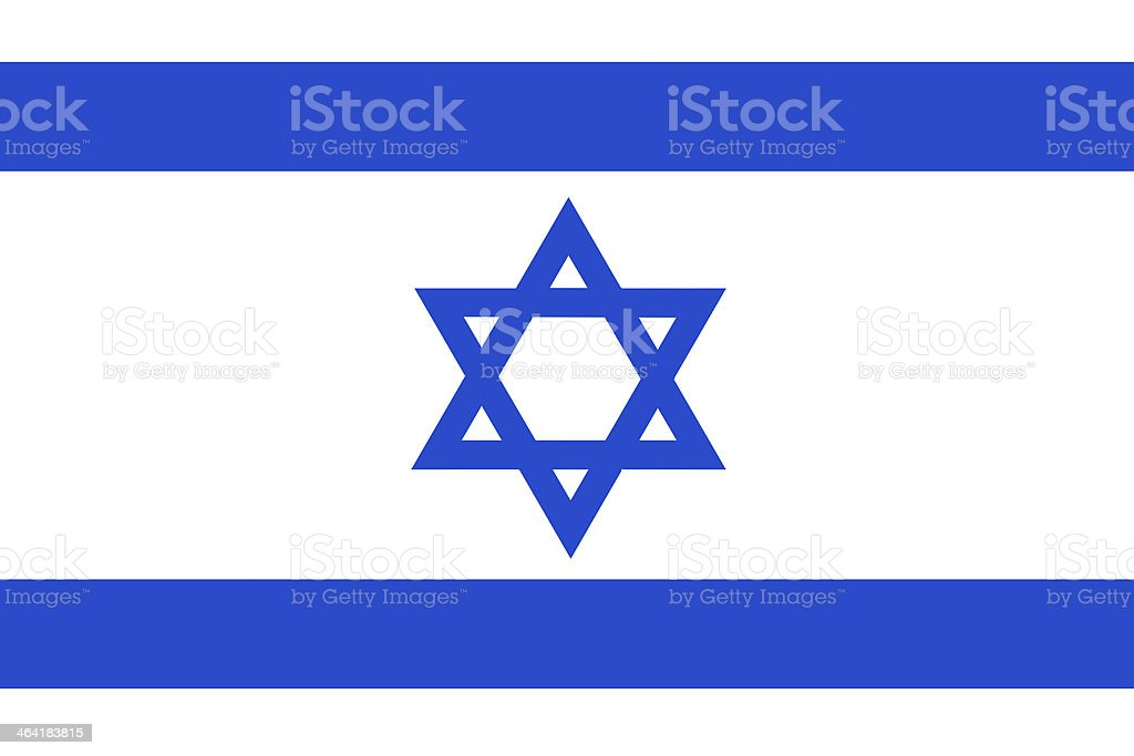 Israel Flag. royalty-free stock vector art