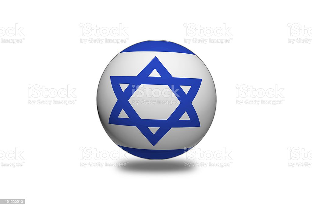 Israel Flag sphere. royalty-free israel flag sphere stock vector art & more images of accuracy